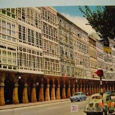 Postales: 1080 A CORUÑA AVENIDA DE LA MARINA RENAULT 44 Y OTROS COSAS&CURIOSAS. Lote 3440832