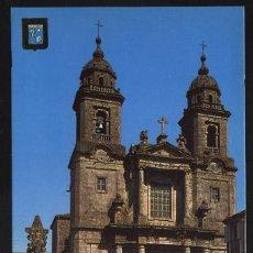 Postales: POSTAL- IGLESIA DE SAN FRANCISCO (SANTIAGO DE COMPOSTELA). Lote 3510629