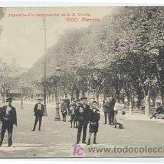 Postales: PONTEVEDRA. VIGO. ALAMEDA. ED E.B. TETILLA. SIN CIRCULAR. Lote 9040017