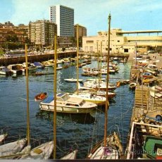 Postales: POSTAL - GALICIA - VIGO - DARSENA DEL REAL CLUB NAUTICO. Lote 4698594