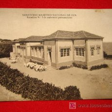Postales: OZA, SANATORIO MARÍTIMO NACIONAL DE OZA TP4984 . Lote 4729877