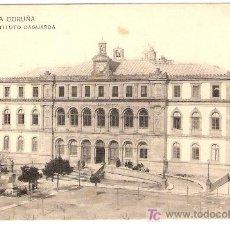 Postales: TARJETA POSTAL DE LA CORUÑA. Nº 5. INSTITUTO DAGUARDA. FOTPIA. HAUSER Y MENET. LIBRERIA LINO PEREZ.. Lote 13188871