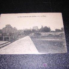 Postales: 10 VILLAGARCIA DE AROSA, PUENTE VIEJO. Lote 5413634