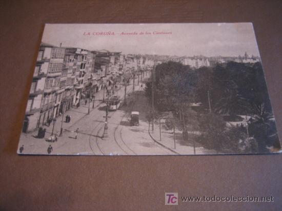 AVENIDA DE LOS CANTONES (Postales - España - Galicia Moderna (desde 1940))
