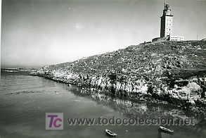 LA CORUÑA. TORRE DE HÉRCULES. (Postales - España - Galicia Moderna (desde 1940))
