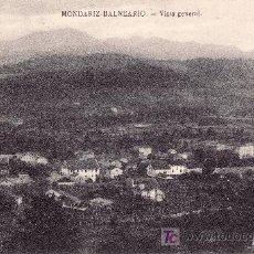 Postales: MONDARIZ BALNEARIO-VISTA GENERAL. Lote 23729136