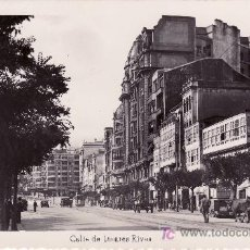 Postales: LA CORUÑA CALLE DE LINARES RIVAS.CIRCULADA . Lote 25913036