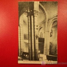 Postales: TARJETA POSTAL DE SANTIAGO - REAL COLEGIATA DE SAR , COLUMNAS INCLINADAS. Lote 6357152