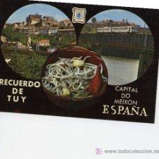 Postales: RECUERDO DE TUY. Lote 6464689