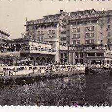Postales: LA CORUÑA. LA SOLANA Y HOTEL FINISTERRE. ESCRITA EN 1958. Lote 24291666