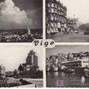 Postales: VIGO. MULTIPLE VISTAS. EDICIONES ARTIGOT.ZARAGOZA. NO CIRCULADA.. Lote 24895035