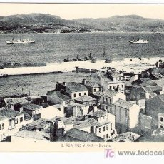 Postales: TARJETA POSTAL DE VIGO Nº 4. RIA DE VIGO - PUERTO L. ROISIN.. Lote 13157106