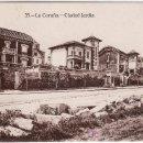 Postales: CIUDAD JARDIN - LA CORUÑA. HELIOTIPIA DE KALLMEYER Y GAUTIER.MADRID.. Lote 21069067