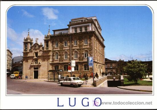 LUGO. PLAZA DEL FERROL E IGLESIA DE SAN FROILAN (Postales - España - Galicia Moderna (desde 1940))