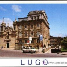 Postales: LUGO. PLAZA DEL FERROL E IGLESIA DE SAN FROILAN. Lote 124625764