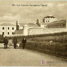 Postales: POSTAL LA CORUÑA LA NUEVA CARCEL. Lote 7422236