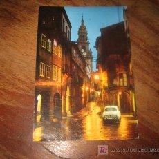 Postales: SANTIAGO DE COMPOSTELA RUA DEL VILLAR. Lote 7445783