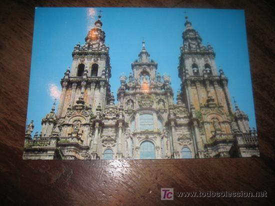 SANTIAGO DE COMPOSTELA LA CATEDRAL (Postales - España - Galicia Moderna (desde 1940))
