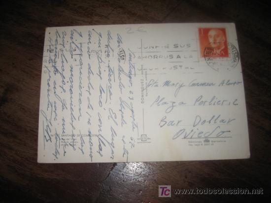 Postales: SANTIAGO DE COMPOSTELA RUA DEL VILLAR - Foto 2 - 7449432