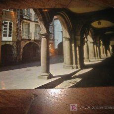 Postales: SANTIAGO DE COMPOSTELA RUA DEL VILLAR. Lote 7449455