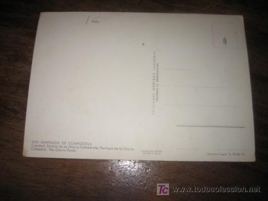 Postales: SANTIAGO DE COMPOSTELA CATEDRAL - Foto 2 - 7449469
