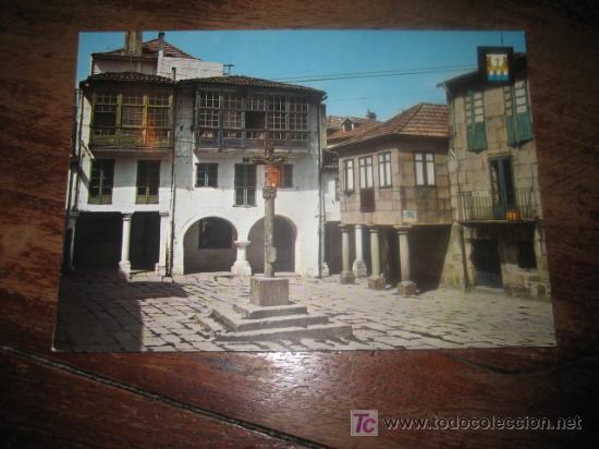 PONTEVEDRA PLAZA DE LA LEÑA (Postales - España - Galicia Moderna (desde 1940))