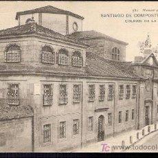 Cartoline: TARJETA POSTAL DE SANTIAGO DE COMPOSTELA Nº 581. COLEGIO DE LA ENSEÑANZA. HAUSER Y MENET.. Lote 12026953
