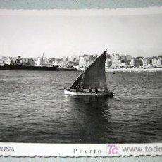 Postales: ANTIGUA POSTAL DE LA CORUÑA - PUERTO - L ROISIN - NO CIRCULADA . Lote 12705403