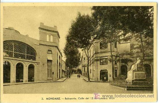 POSTAL BALNEARIO DE MONDARIZ VIGO (Postales - España - Galicia Antigua (hasta 1939))