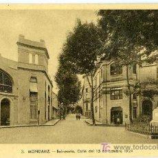 Postais: POSTAL BALNEARIO DE MONDARIZ VIGO. Lote 7768943