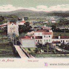 Postales: VILLAGARCIA DE AROSA.VISTA PARCIAL. FOTO MARTINEZ. NO CIRCULADA.. Lote 27493228