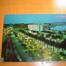 Postales: POSTAL LA CORUÑA AVENIDA LOS CANTONES Y JARDINES SIN CIRCULAR. Lote 8066883