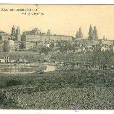 Postales: SANTIAGO DE COMPOSTELA, VISTA GENERAL. Lote 8097053