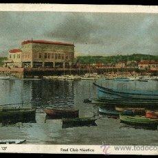 Postales: TARJETA POSTAL DE LA CORUÑA Nº127- REAL CLUB NAUTICO. Lote 13432787