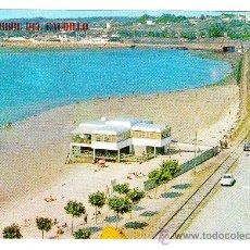 Postales: POSTAL DE EL FERROL, DEL CAUDILLO-534- PLAYA DE COPACABANA (ED PARIS, ESCRITA , SIN CIRCULAR). Lote 25700791