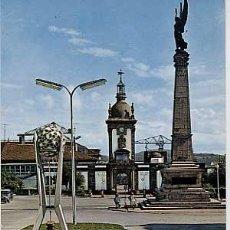 Cartes Postales: CORUÑA. FERROL DEL CAUDILLO. PLAZA CAMILO ALONSO VEGA. ESCRITA. Lote 9026652