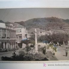 Postales: CORCUBION: PLAZA BLANCO RAJOY - POSTAL ORIGINAL. Lote 9310418