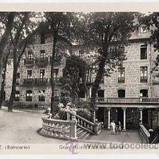 Postais: PONTEVEDRA. MONDARIZ, BALNEARIO.. GRAN HOTEL FACHADA LATERAL. L. ROISIN FOTO. CIRCULADA. Lote 21049520