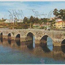 Postales: TARJETA POSTAL DE LA RAMALLOSA PUENTE ROMANO PONTEVEDRA. Lote 9477621
