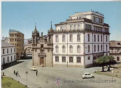 LUGO. IGLESIA DE SAN FROILAN . ED. ALARDE Nº 12 . AÑO 1966 SIN CIRCULAR (Postales - España - Galicia Moderna (desde 1940))