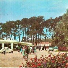 Postales: POSTAL A COLOR LA TOJA TEMA SEAT 600 CIRCULADA 1966. Lote 9526460