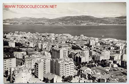PONTEVEDRA VIGO.VISTA PARCIAL. ED. ARRIBAS Nº 1027 (Postales - España - Galicia Moderna (desde 1940))