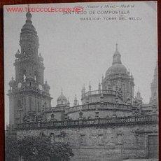 Postales: POSTAL SANTIAGO DE COMPOSTELA(LA CORUÑA) - HAUSER Y MENET. Lote 24653197