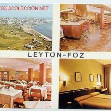 Postales: FOZ. LUGO. HOTEL LEYTON.. Lote 2832408