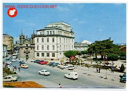 LUGO. IGLESIA DE SAN FROILAN Y PLAZA DEL FERROL. (Postales - España - Galicia Moderna (desde 1940))