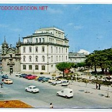 Postales: LUGO. IGLESIA DE SAN FROILAN Y PLAZA DEL FERROL.. Lote 13168096