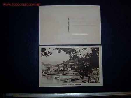 PUENTE SAMPAYO - PONTEVEDRA - EDI FOURNIER VITOSIA - SIN CIRCULAR - PUENTES (Postales - España - Galicia Antigua (hasta 1939))