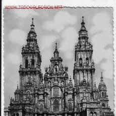 Postales: SANTIAGO CATEDRAL FACHADA OBRADOIRO. Lote 2405179