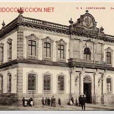 Cartes Postales: PONTEVEDRA. CASA CONSISTORIAL. ED. VIÑAS Nº 2 A. SIN CIRCULAR. Lote 10675899