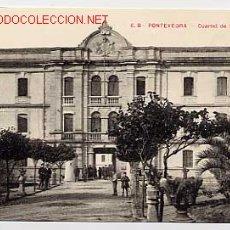 Cartes Postales: PONTEVEDRA. CUARTEL DE SAN FERNANDO. EDICION VIÑAS Nº 6 B. SIN CIRCULAR. Lote 11899029